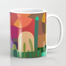 Botanical Wonderland - Cactus Garden Bybrije Coffee Mug