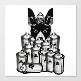 RAD VANDAL and SPRAY CANS Canvas Print