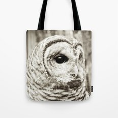 Wise Old Owl Tote Bag