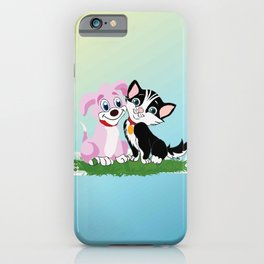 Snowy and Lucie iPhone Case
