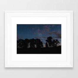 Galaxies III Framed Art Print