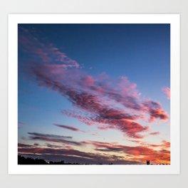 Sunset Spectrum Art Print
