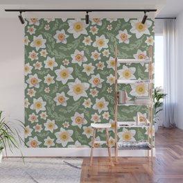 Dancing Daffodils Wall Mural