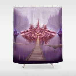 City of the Ancients Shower Curtain