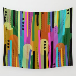 Forest of  Colors Wall Tapestry