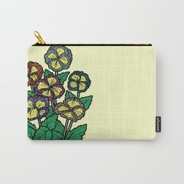 technicolor flowers Carry-All Pouch