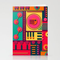 sunrise Stationery Cards featuring Sunrise by Shelly Bremmer