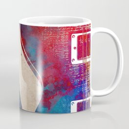 Guitar art 7 #guitar #music Coffee Mug