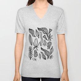 Plant Girl Unisex V-Neck