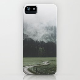 road - Landscape Photography iPhone Case