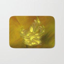 Rhapsody in yellows Bath Mat