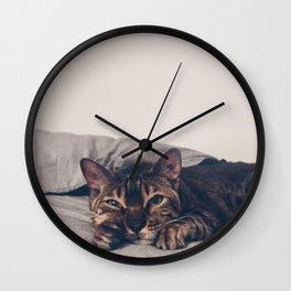 Caturday Wall Clock