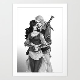 Loving Embrace Art Print