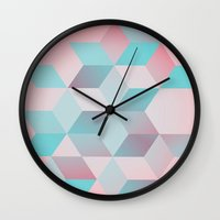 baby Wall Clocks featuring BABY by DuckyB