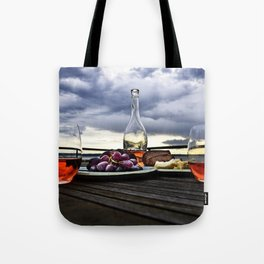 Rosé in the Storm Tote Bag