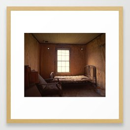 Ghost Bedroom Framed Art Print