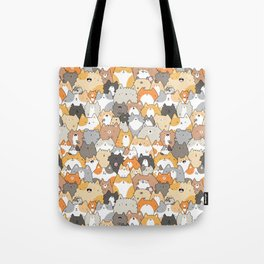 Cats, Kitties and a Spy Tote Bag