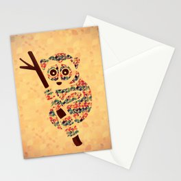 The Pattern Loris Stationery Cards