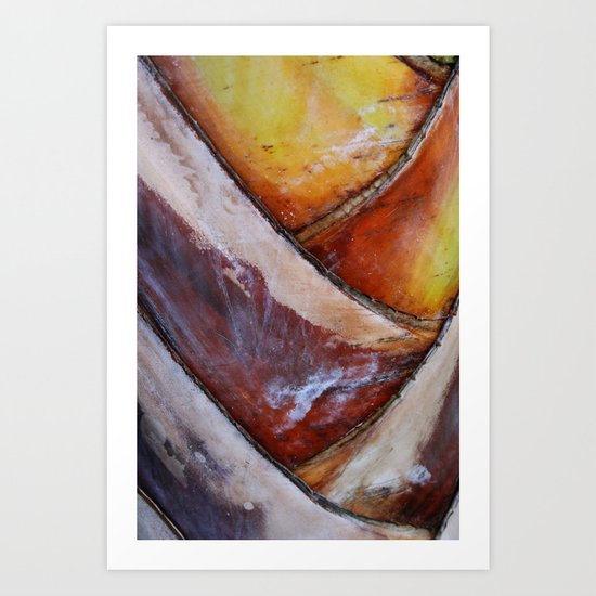 Abstract Palm 1 Art Print