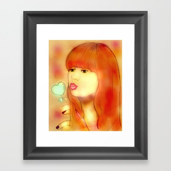 """The Gillan"" Framed Art Print"