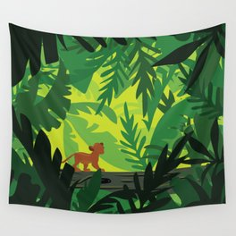 Lion King - Simba Pattern Wall Tapestry