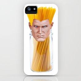 Guile Spaghetti iPhone Case