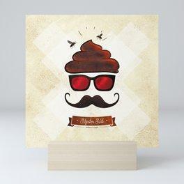 Hipster Hat Mini Art Print
