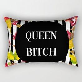 Queen Bitch Rectangular Pillow
