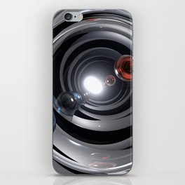 Abstract Camera Lens iPhone Skin
