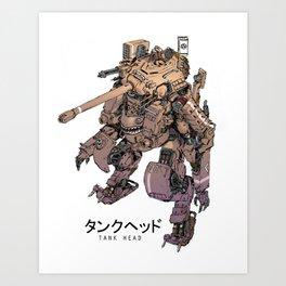 TankHead Art Print