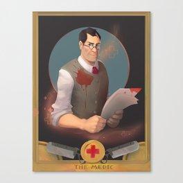 Diagnosis Canvas Print