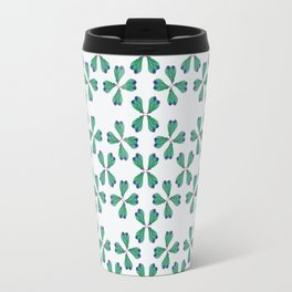 Feather Fan pattern Travel Mug