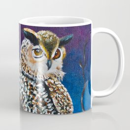 Owl Coat - Ugla Skyrta Coffee Mug