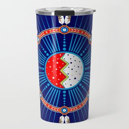 Crazy Horse Dreaming Travel Mug