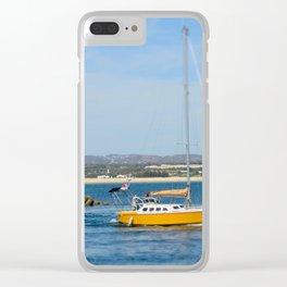 Port exit, Tavira Clear iPhone Case