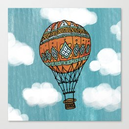Hot Air Ballon in the Sky Canvas Print
