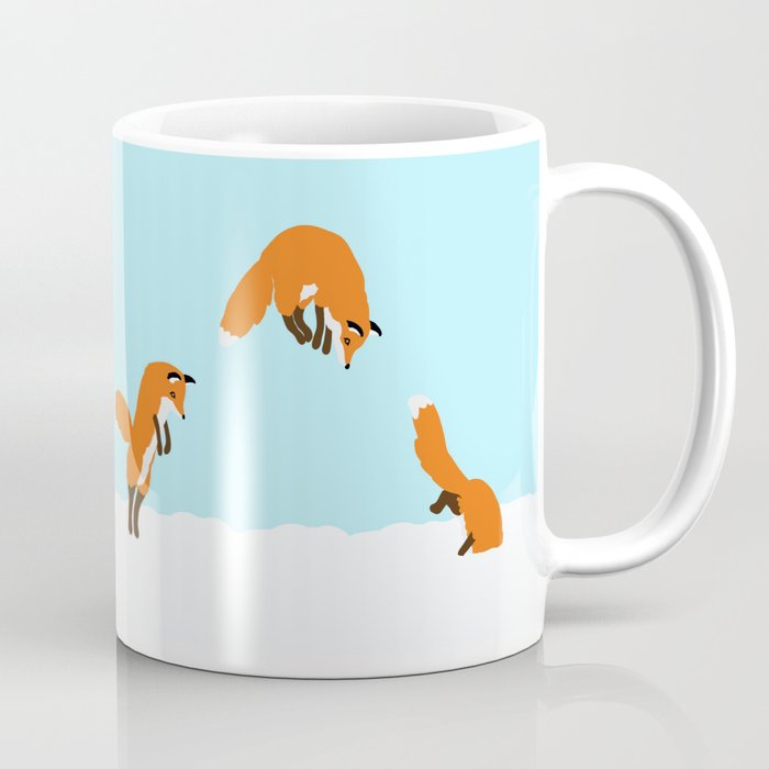 The Jumping Fox Coffee Mug By Helenasuniverse Society6