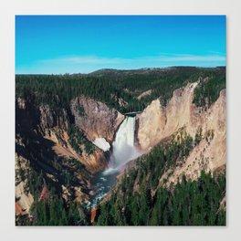 Yellowstone x Lower Falls Canvas Print