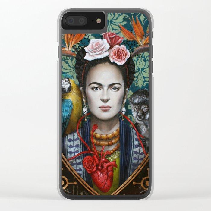 Frida Clear iPhone Case