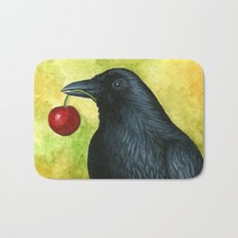 Bird 55 Crow Raven Bath Mat