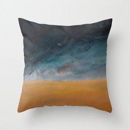 Building Storm Throw Pillow