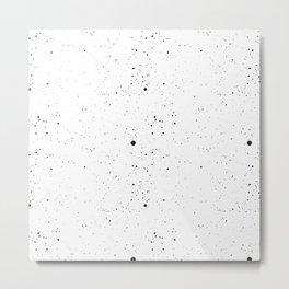 splatte patten Metal Print