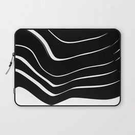 Organic No. 10 Black & White #minimalistic #design #society6 #decor #artprints Laptop Sleeve