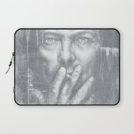 Black Star [Faded] Laptop Sleeve
