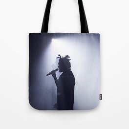 Abel on stage Tote Bag