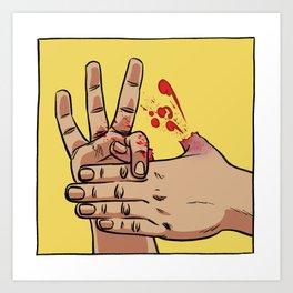 Magic Trick Art Print