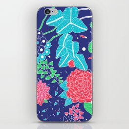 Flowers and Cactus iPhone Skin