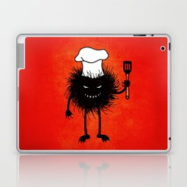 Evil Bug Chef Loves To Cook Laptop & iPad Skin