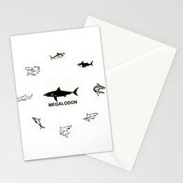 Shark Image Marine Biologist Sea Creature Design Stationery Cards
