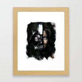 darth&anakin duo Framed Art Print